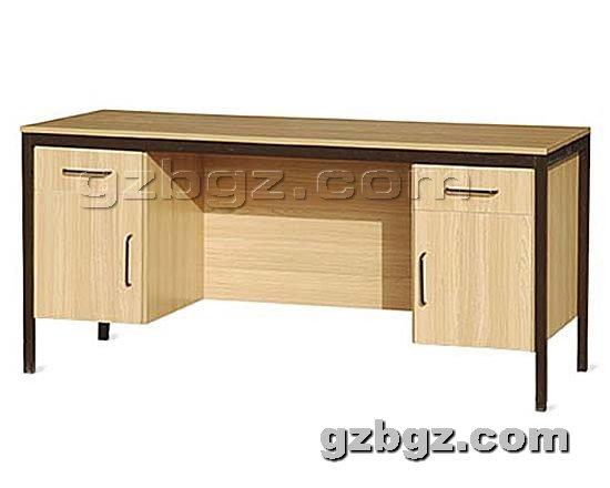 钢制办公桌提供生产定做钢木办公桌厂家