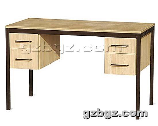 钢制办公桌提供生产新式钢木办公桌厂家